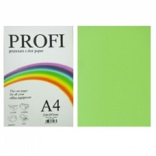 """Папір А-4 """"PROFI"""" Cyber Green №321 80г/м2 100арк."""