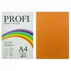 """Папір А-4 """"PROFI"""" Cyber Orange №371 80г/м2 100арк."""