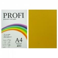 """Папір А-4 """"PROFI"""" Deep Gold №200 80г/м2 100арк."""
