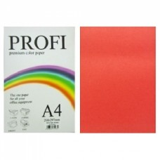 """Папір А-4 """"PROFI"""" Deep Red №250 80г/м2 100арк."""