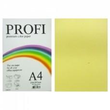"Папір А-4 ""PROFI"" Light Yellow №160 80г/м2 100арк."