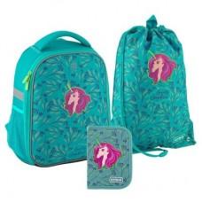 """Набір рюкзак+пенал+сумка для взуття """"Kite Lovely Sophie-SET_K20-555S-5"""""""