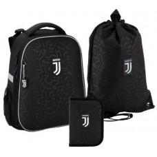 """Набір рюкзак+пенал+сумка для взуття """"Kite FC Juventus SET_JV20-531M"""""""