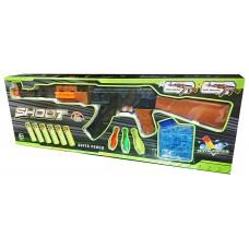 """Автомат """"Shoot-600-31"""" водян.пулі+присоски+мішені"""