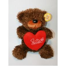 "М'яка іграшка ""Медведь с сердцем"" 36см./slt-6054/"