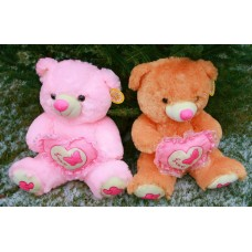 """М'яка іграшка """"Медведь с сердцем"""" 43см/x4-6042/"""