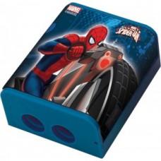 """Точилка двойная з контейнером """"Человек-паук-620200"""