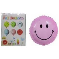 """Кульки повітряні фольговані """"Смайл-1219"""" 45см"""