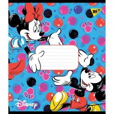 """Зошит 12арк.кос.""""YES-765370"""" Minnie.Party mouse"""