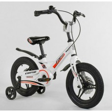 "Велосипед 14"" 2-х кол.""CORSO-MG02044""(1) магн.рама, диск.гальмо"