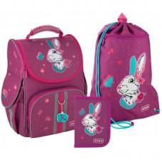 "Набір рюкзак+пенал+сумка для взуття ""Kite Bunny-SET_K20-501S-7"""