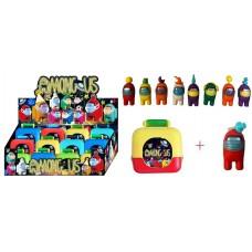 """Герої """"AMONG US 50105"""" валізка з іграшкою 11,5см"""