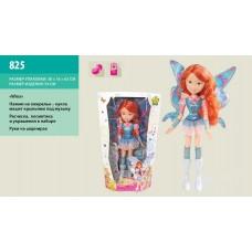 """Кукла """"WINX""""батар.,муз,машет крыльями,62х38см 825"""
