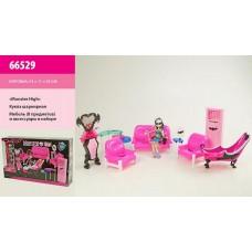 "Кукла""Monster High""шарнир.с мебел,в к.55х33с 66529"