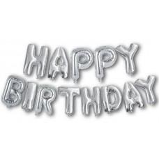 """Кульки-літери повітр.фольговані """"Happy Birthday"""""""