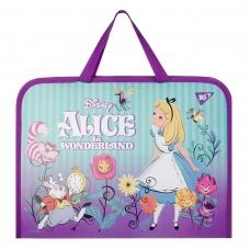 """Портфель на блискавці """"Yes-491818"""" Alice  з ткан. ручками"""