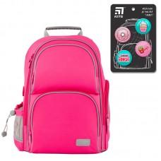 """Набір рюкзак+пенал+сумка для взуття """"Kite Smart-SET_K19-702M-1"""" рожевий"""