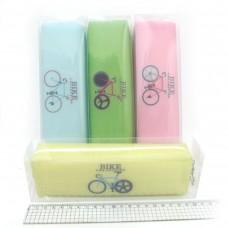 """Пенал силік.19*5,5*3,5см """"Bike-1235_DSCN"""" PVC мікс"""