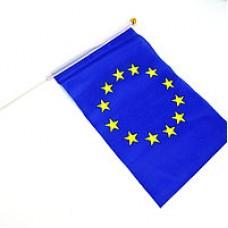 Прапор EURO 14*21см на палочке и липучке