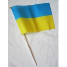 Прапор України 14*21см на палочке