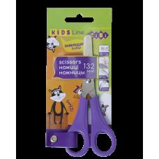 """Ножиці дитячі 13,2см для шульги """"ZiBi-5018-07"""" фіолетові"""