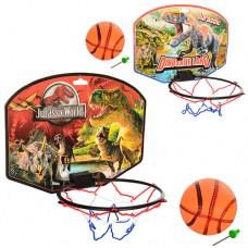 Баскетбольне кільце, м'яч, щит, сітка, в пак.30х27см  2988 М