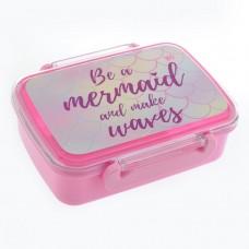 """Контейнер для еды """"Mermaid-706625"""" 420мл.с раздели"""