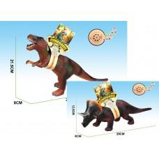 Динозавр гумовий 42х25см CQS705-1/2