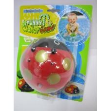 Игрушка-брызгалка для ванной на пл.21х17см 381/382