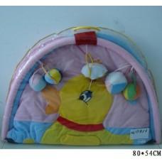 Коврик для малышей с погремушками 80х54см W8313
