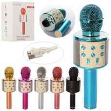 Мікрофон 23см,USB,в кор.15х11см WS858-mini