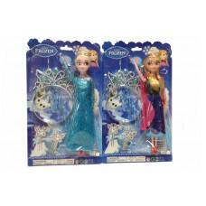 """Кукла """"Frozen"""" диадема,заколки,на пл.37х22см 316F"""