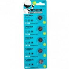 Батарейка CR 1220-U5 Videx блістер