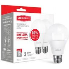 """Лампа енегозберігаюча """"Мaxus"""" А60/10W/3000К/E27"""