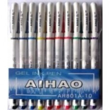 "Набір ручок гель 10кол.""АIHАO"""