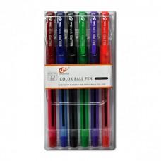 """Набір ручок """"501-Р"""" 6кол."""