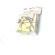 """Кубики """"Екзотичні птахи-104102"""""""