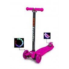 Самокат Scooter MAXI рожевий