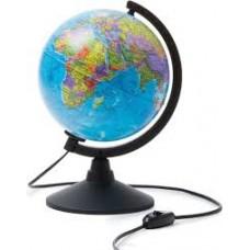 Глобус політичний 220мм електричний