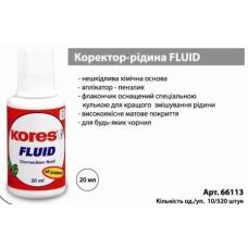 "Коректор ""Kores-K66101"" FLUID 20мл."