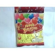 """Повітряні кульки 10"""" стандарт жовті"""