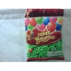 """Повітряні кульки 10"""" стандарт зелені"""