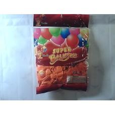 """Повітряні кульки 10"""" стандарт оранжеві"""