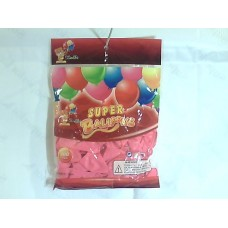 """Повітряні кульки 10"""" стандарт рожеві"""