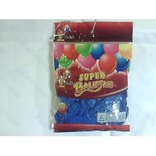 """Повітряні кульки 10"""" стандарт сині"""