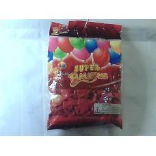 """Повітряні кульки 10"""" стандарт червоні"""