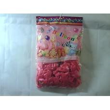 """Повітряні кульки 12"""" метал рожеві"""