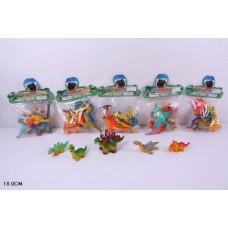 Животные динозаврики,в пакете 22х18см Q0011B-1-6