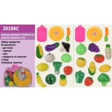 Овочі та фрукти в сумці 23х14см 2018AC