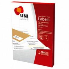 """Етикетки самоклейні """"Uni Labels"""" 14шт 105х42,4"""